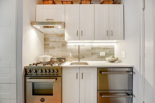 Install a compact undermount kitchen sink