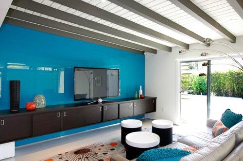 Brilliant blues Design by Marriott Construction Sunshine Coast