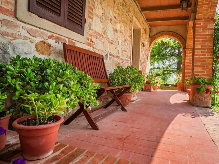 Brick porch House in Sunshine Coast