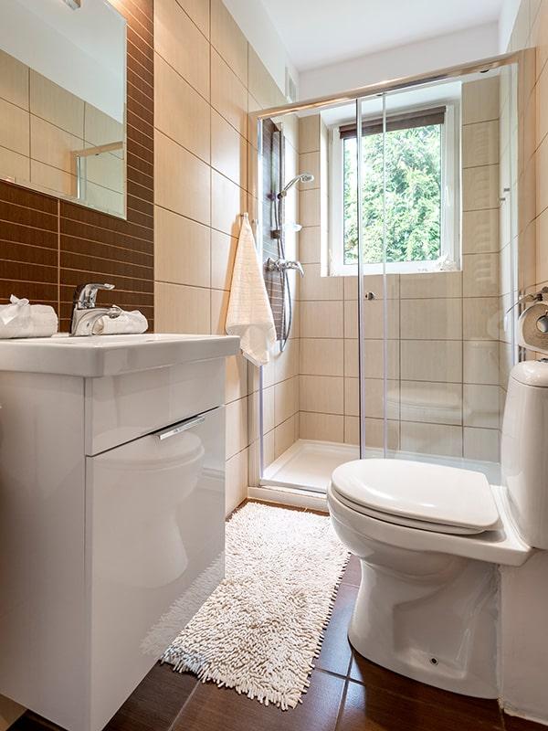 Upgrade the bathroom and backsplash tiles