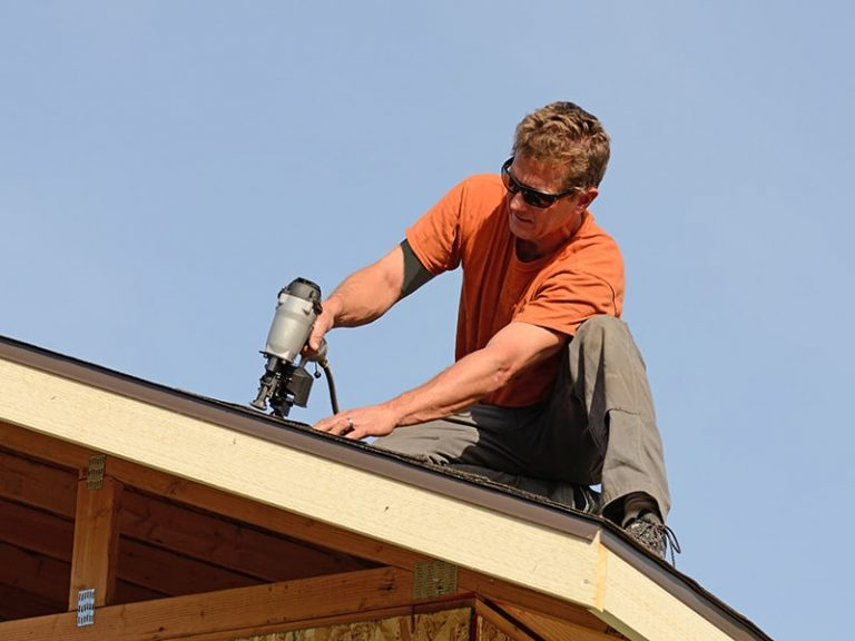 Fixing the roof on the Gold Coast